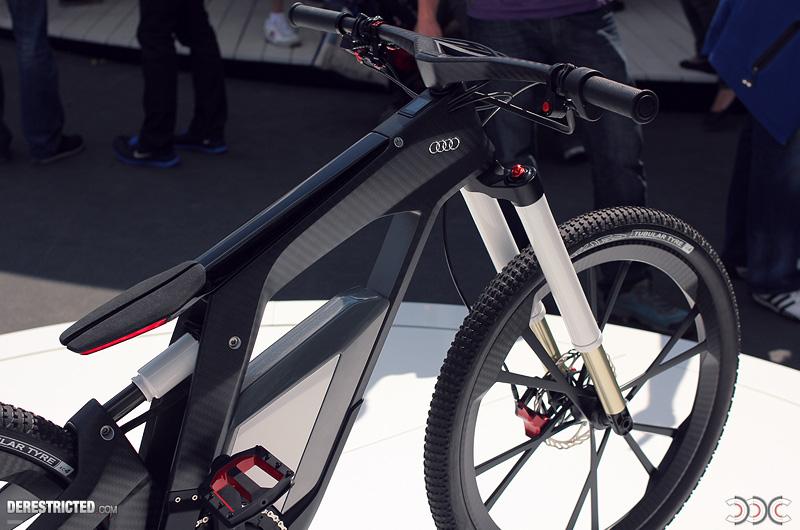 audi electric bike revealed electricbike com. Black Bedroom Furniture Sets. Home Design Ideas