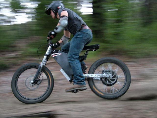 Steatlh Bomber Electric Bike Review Electricbike Com