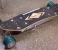 4wd hub powered skateboard