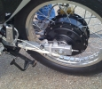 powerful (and heavy) motorcycle rear hub
