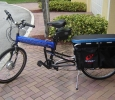 Montague Folding Cargo Bike with 9c front hub