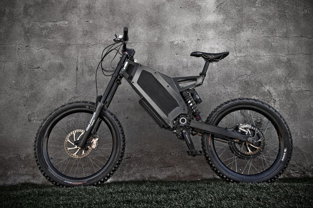 Steatlh bomber electric bike review electricbike com for Bicycles with electric motors