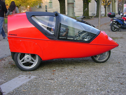 Twike electric bike pedal car defined electricbike com for Is a bicycle considered a motor vehicle