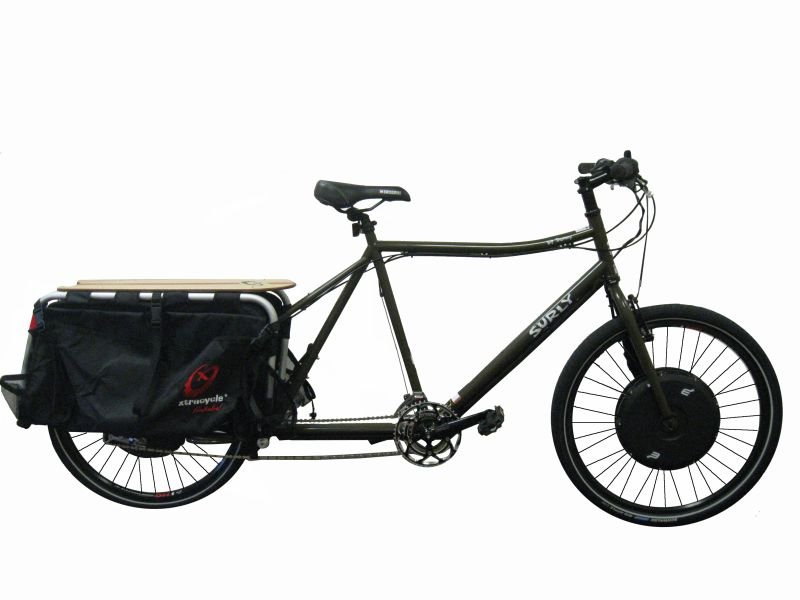 Bikes Electric Bicycle Surly Big Dummy Cargo Bike