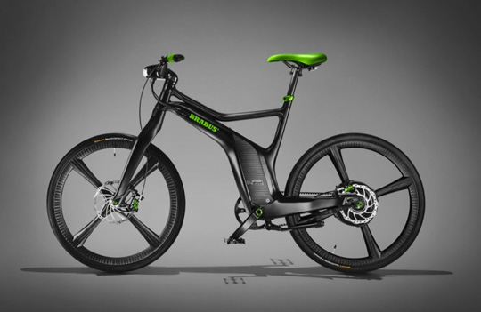 Smart Ebike Boldly Steps Up to the Plate