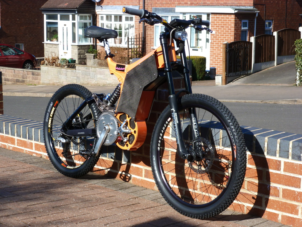 Custom Specialized Super Charged Mountain Bike
