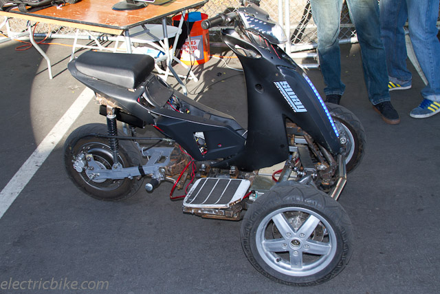 Tilting Trike Motorcycle Tilting Electric Trike