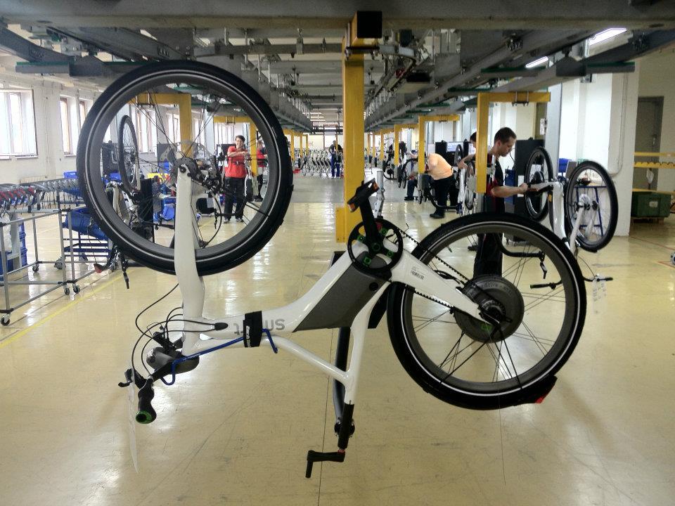 Smart e bike factory floor fresh german air for Electric motor supply near me