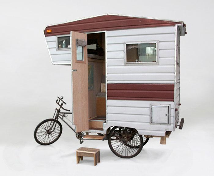 Teardrop bicycle camper bicycle campers pinterest campers - 10 Ways A Cargo Electric Bike Saves Money Electricbike Com