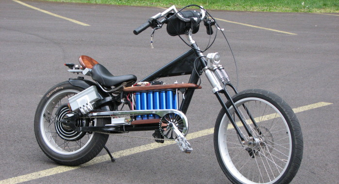 Chopper Bikes With Motor I saw and rode this bike at