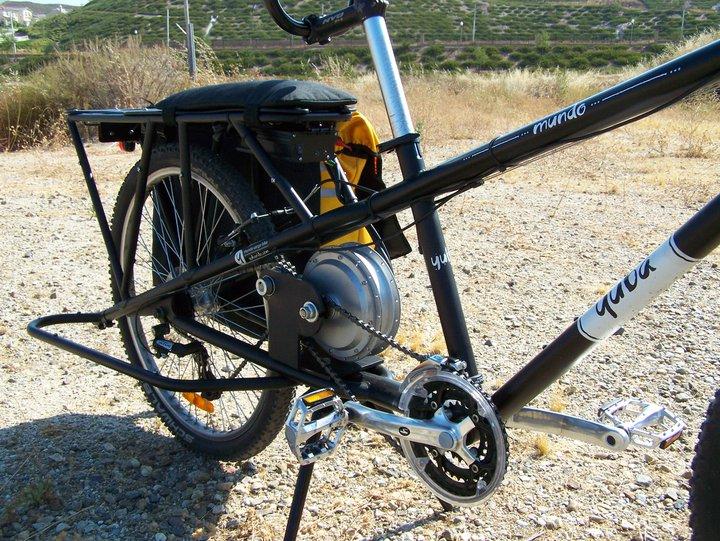 Panda Pro Rear Wheel 36v 250w 10ah Electric Bike Conversion