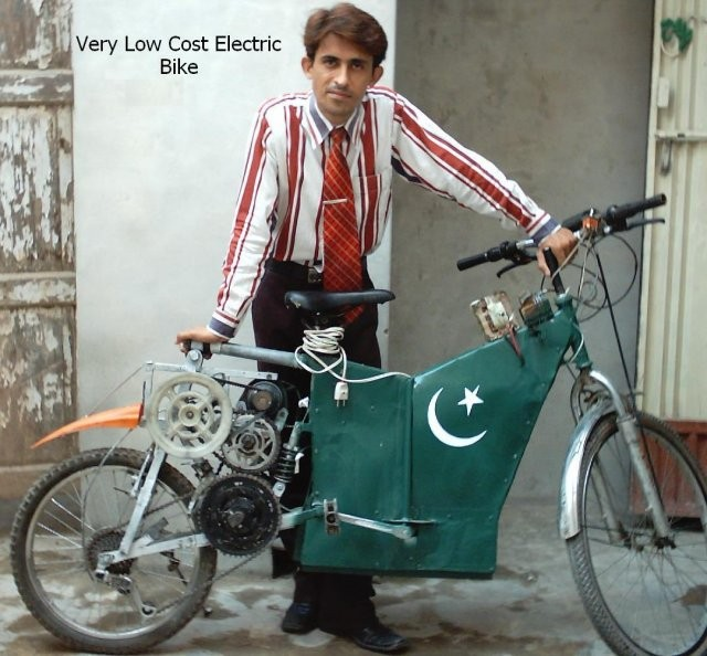 Copy of Very Low Cost Electric Bike