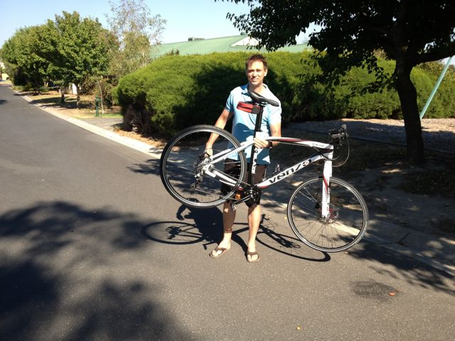 kepler and bike