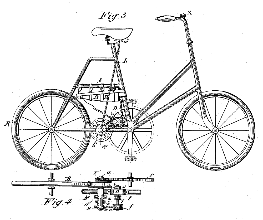 electric bike history  patents from the 1800 u2019s patent10