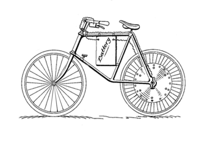 Bike History References Electric Bike History patents