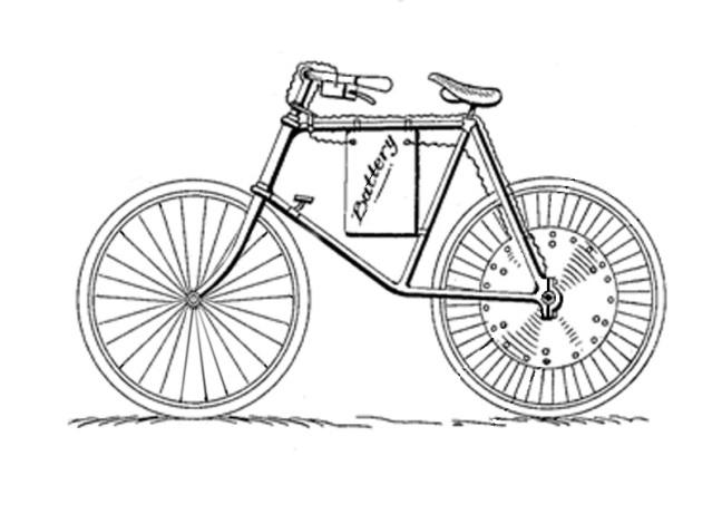 Bike History References Electric Bike History patents