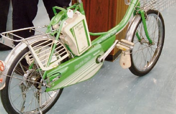 The 1972 Panasonic E-bike.