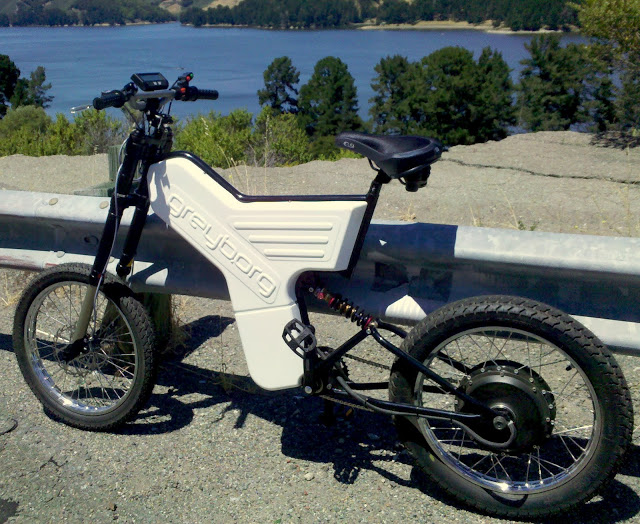 The Greyborg is a high-powered DIY ebike frame from ...