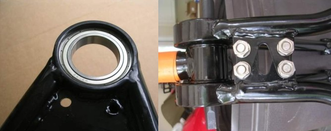 How to build a single pivot around the bottom bracket