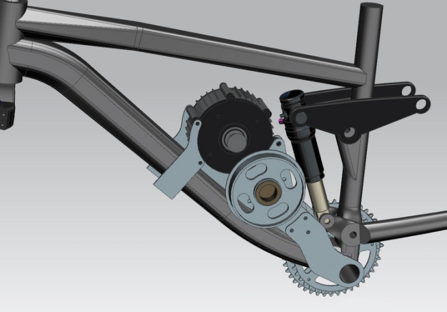 This bracket design exercise was done on Solidworks by ES member Lightning Rods