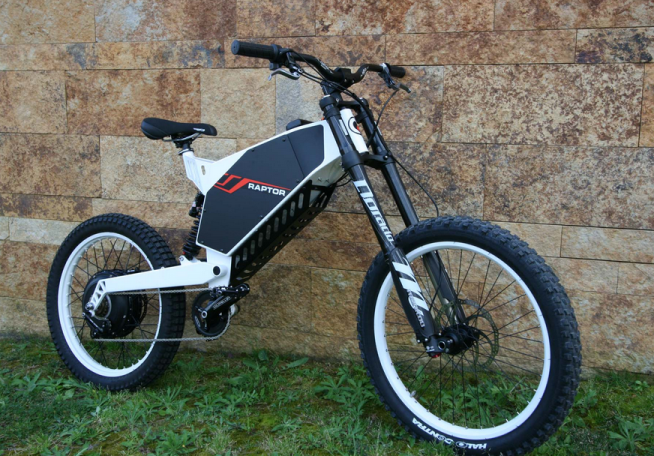 The Qulbix Raptor Is A Hot Rod Offroad Electric Bike