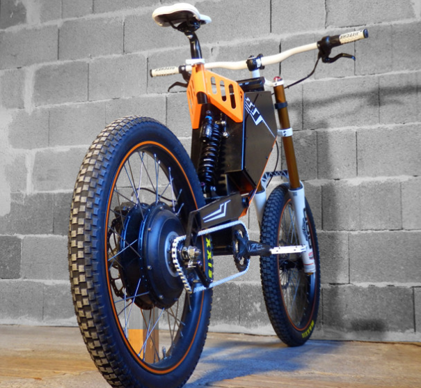 Qulbix Raptor Offroad Hot Rod Electric Bike Raptor5