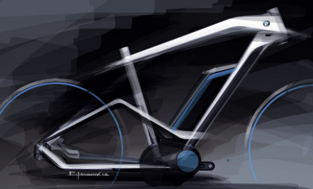 The 2014 BMW E-bike styling exercise.