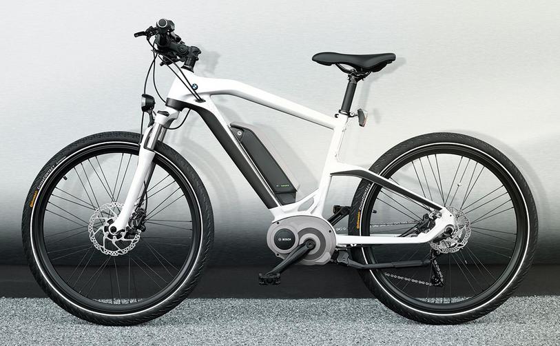 bmws electric bike for 2014 using the bosch mid drive