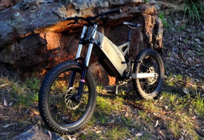 A wild F-37 found in its natural habitat, pic courtesy of Jay in Sydney, Australia. Owner of Hyena Electric Bikes