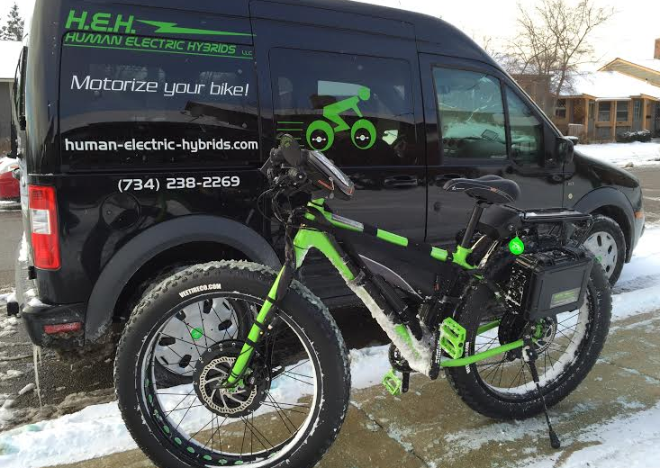 2wd Fatbike The Ultimate In Traction Electricbike Com