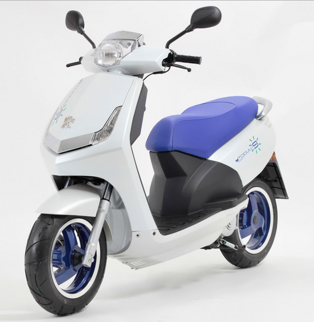 Peugeot has been a major supplier of small gasoline scooters from the time that gasoline engines were first invented, and the 2010 eVivacity is their first electric scooter, and was made for the European market.