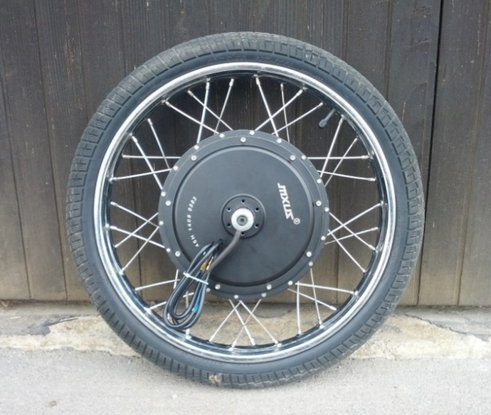 If You Want A Big Hot Rod Hubmotor You Need Moped Rims