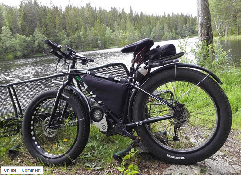 A big-block fatbike in Norway...Awesome!