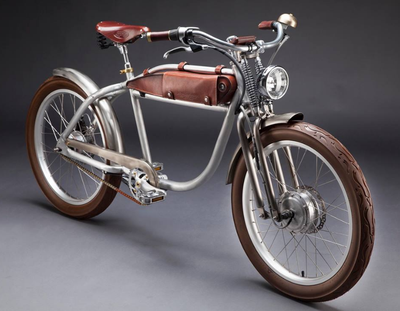 Italjet Ascot Beautiful E Bike With A Style From The 1920