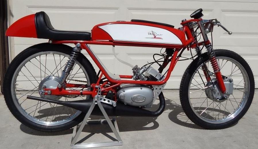 The 1969 Italjet Vampiro 50.