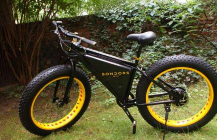 sondors electric fat bike 2016 review electricbike com. Black Bedroom Furniture Sets. Home Design Ideas