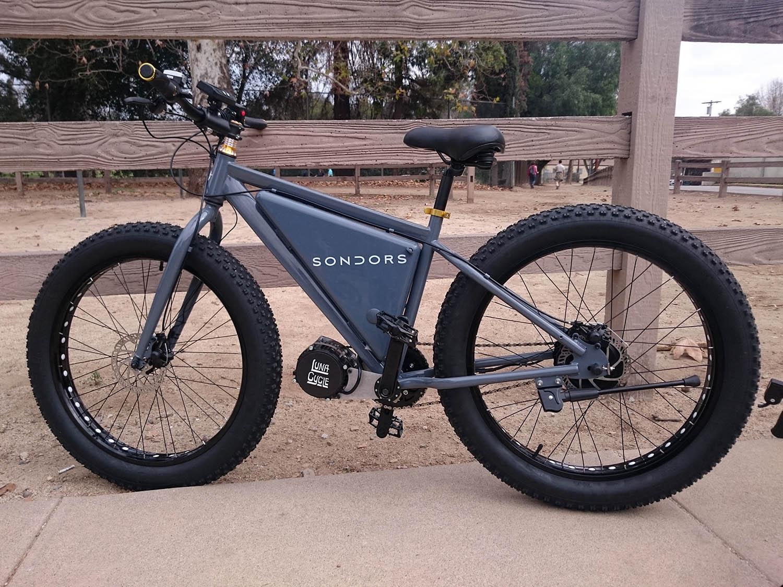 Sondors Electric Fat Bike 2016 Review Electricbike Com