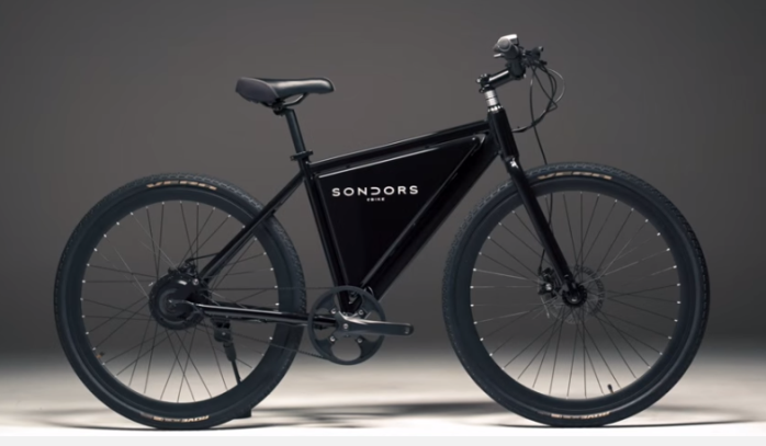 "The Sondors ""Thin"" city ebike."