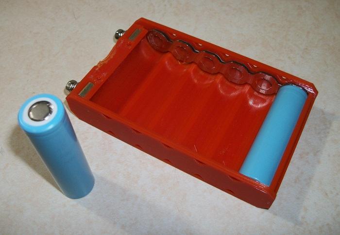 18650 batteriehalter Parallel 3 Slot 3,7 V DIY 18650 Batterie